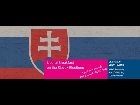 Event: Liberal Breakfast on the Slovak Elections