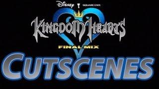 KH HD 1.5 ReMIX - Kingdom Hearts Final Mix FULL MOVIE (English) All Cutscenes HD (Copyright Free)
