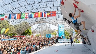 Road to Tokyo #15: Munich Silver Dyno / Bouldering World Cup Munich 18-19 May 2019