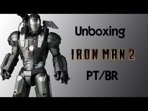 Caixa de Pandora #45 - Iron Man 2 - War Machine - Hot Toys - Escala 1/6 - Review