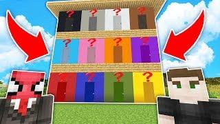 ÖRÜMCEK ADAM 1000 TANE RENKLİ KAPI BULDU HANGİSİNİ SEÇECEK? - Minecraft