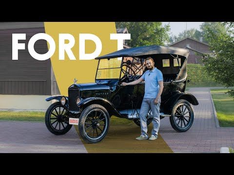 100-летний Ford на САМОМОЙКЕ: самый необычный тест