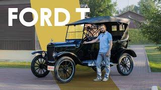 Самый необычный тест: Ford T 1924 года — на каждый день