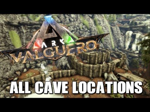 Repeat ARK VALGUERO ALL CAVE LOCATIONS | INCLUDING WATER