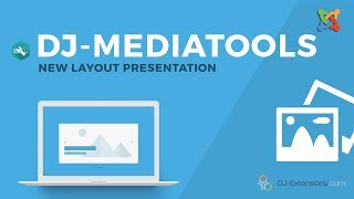 DJ-MediaTools new layout presentation - Modern Slider