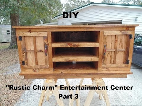 how to build an entertainment center out of pallets