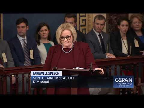 Word for Word: In Farewell Remarks, Sens. Flake & McCaskill Critical of Politics (C-SPAN)