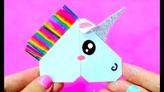 DIY Unicorn Corner Bookmark | Easy & Cute School Supplies