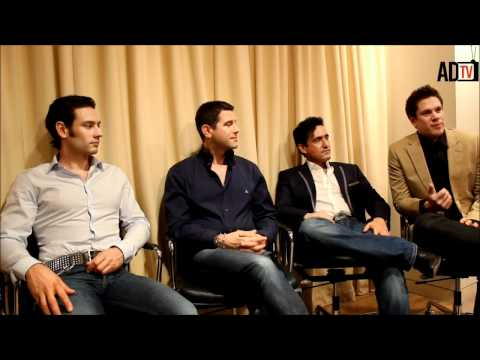 Il Divo Interview - Discuss 'Wicked Game' Album With Amaru Don TV (Part 1)