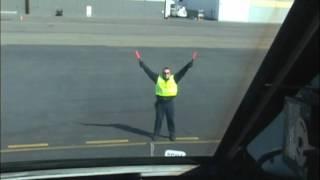 Ramp Marshal Hand Signals