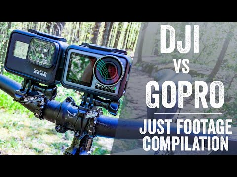 DJI OSMO Action Test Footage Extravaganza!