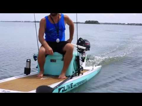 Motorized LIVE Watersports Paddle Board