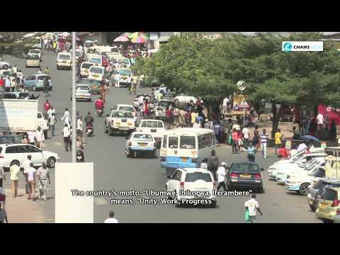 Places: Burundi in  60 Secs