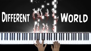 Different World - Piano Cover - Alan Walker