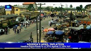 Nigeria's Economy: Analysing Latest Inflation Figures 15/05/19 Pt.2 |News@10|
