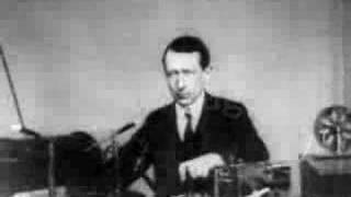 Guglielmo Marconi Showing Demo Of Radio TX/RX