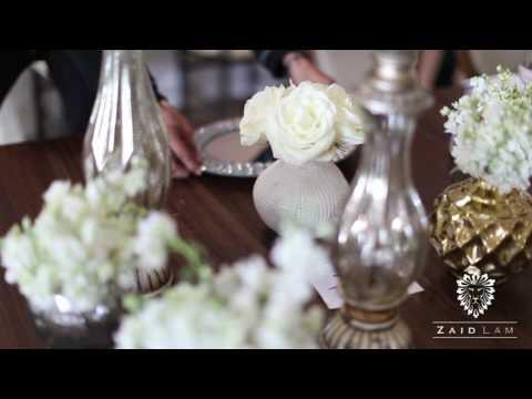 ZAID LAM Wedding Planner & Florist Promo 001