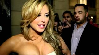Brittney Palmer - Playboy Release Red Carpet Exclusive