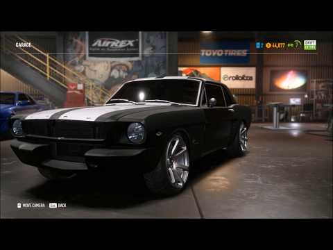 Need For Speed Payback -From Scratch to Fast & Furious Tokyo Drift Sean's Mustang