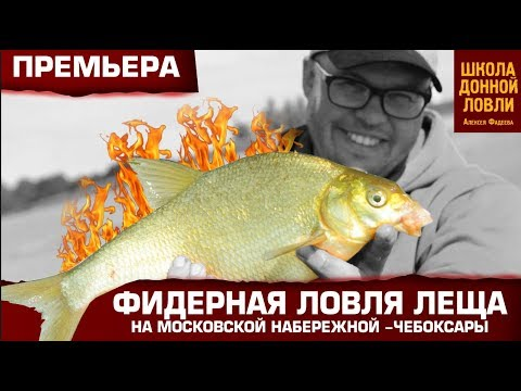 Фидерная ловля леща на Московской набережной -Чебоксары