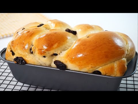 Soft And Fluffy Raisin Bread Easy Recipe
