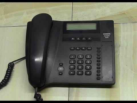 Разбираем телефон Siemens Euroset 5015.