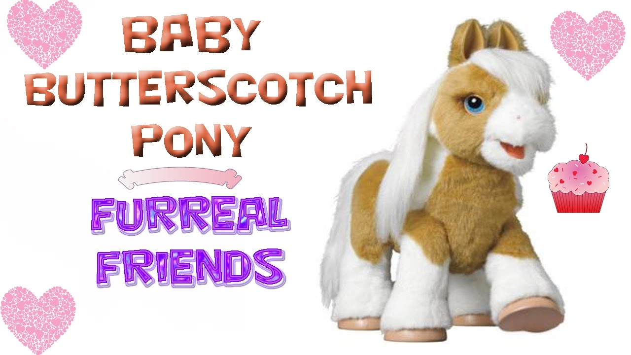 furreal friends butterscotch pony manual