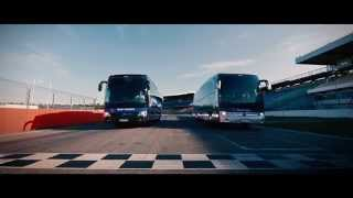Bus Race Team Europe vs. Team USA