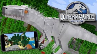 JURASSIC PARK MCPE   Minecraft PE: BKT