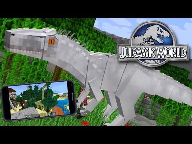 JURASSIC PARK MCPE Minecraft PE - BKT