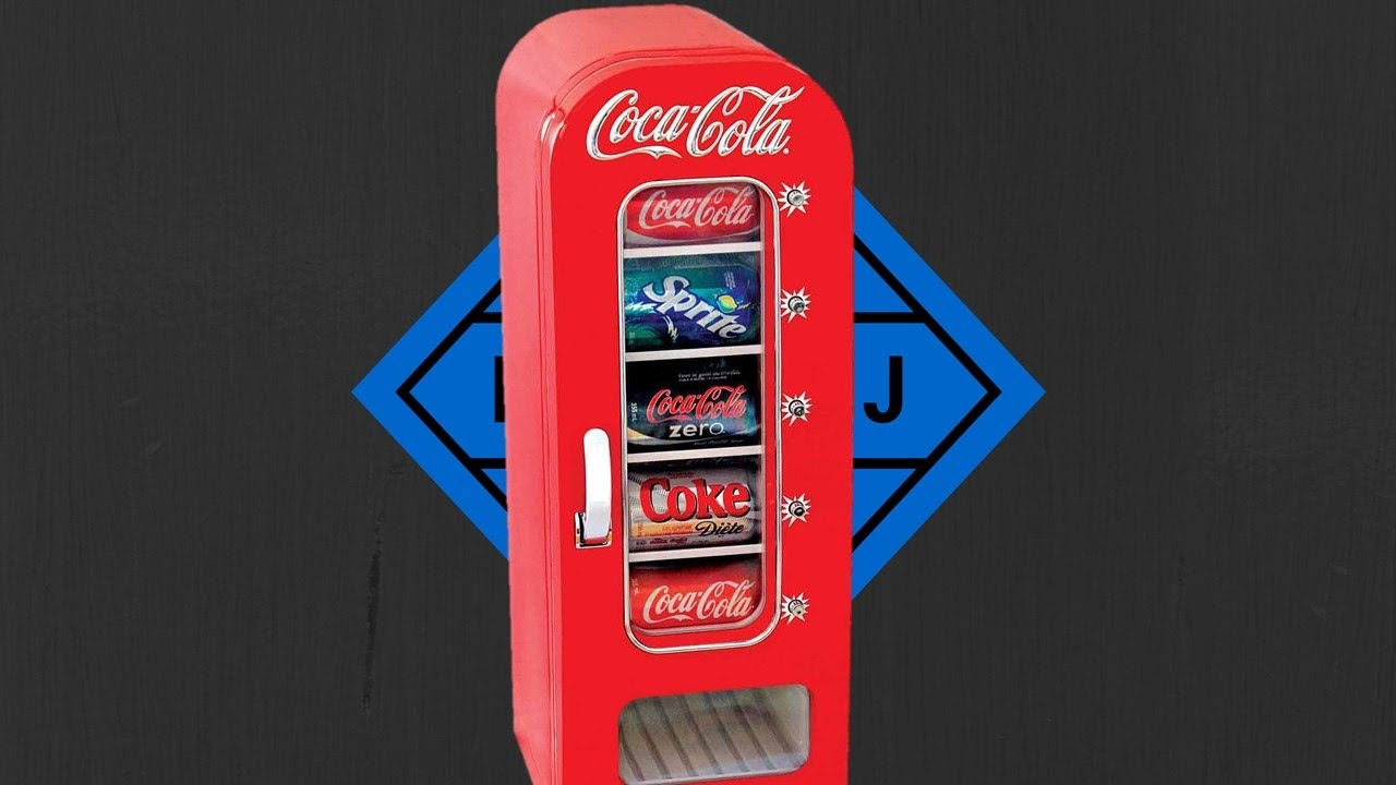 Coca Cola Fridge >> Coca Cola Retro Vending Fridge Review! - YouTube