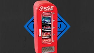 Coca Cola Retro Vending Fridge Review!