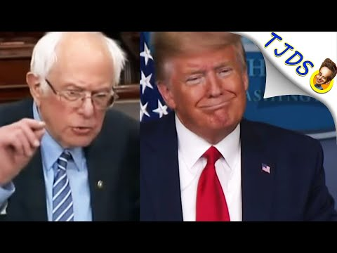 Trump Tells Truth About Bernie Dropping That Democrats Won't