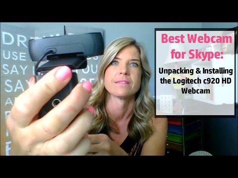 Best Webcam for Skype: Unpacking & Installing the Logitech c920 HD Webcam