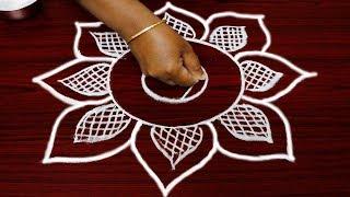 Video latest and simple freehand rangoli designs - margazhi kolam designs - best muggulu download MP3, 3GP, MP4, WEBM, AVI, FLV Juni 2018