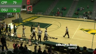 Dixie State vs. Cal Poly Pomona - CCAA/PacWest Game 2