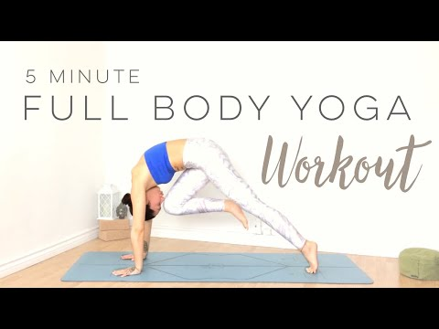 5 Minute Yoga Full Body Yoga Workout
