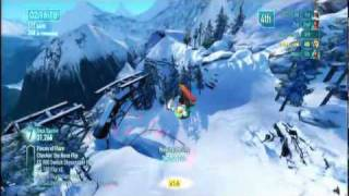 SSX ps3 gameplay