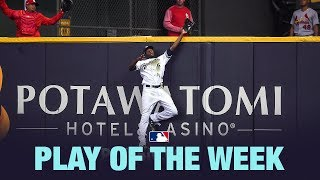 Lorenzo Cain's insane catch is the Play of the Week from 4/1
