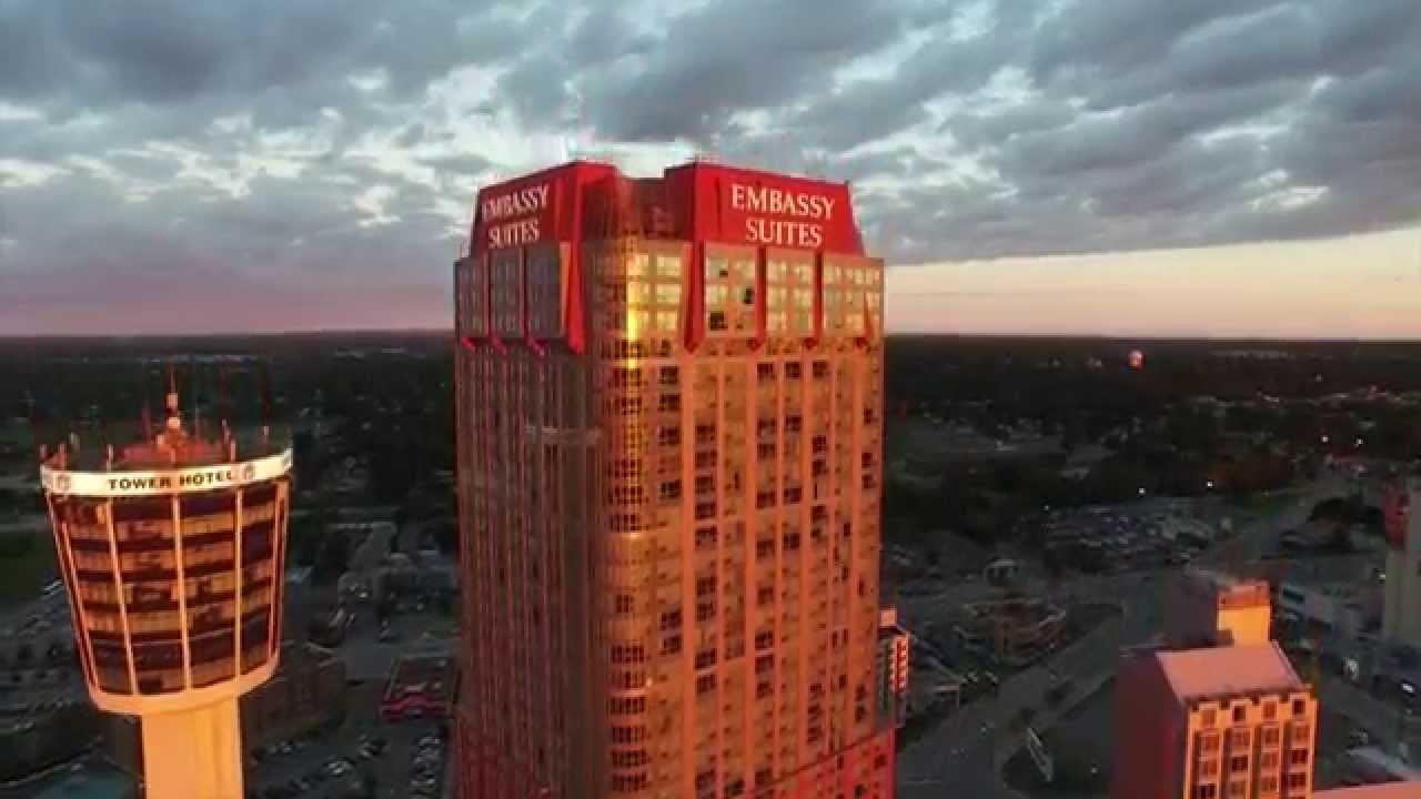 Embassy Suites By Hilton Niagara Falls Fallsview Youtube