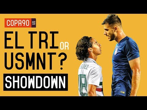 Mexico or US Soccer: Who Has the Brighter Future? The Showdown | Ep. 1