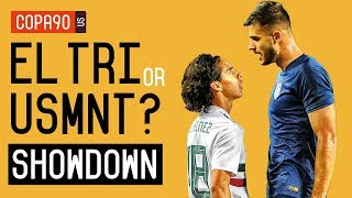 Mexico or US Soccer: Who Has the Brighter Future? The Showdown   Ep. 1