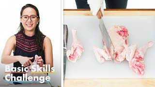 50 People Try To Butcher A Chicken | Epicurious