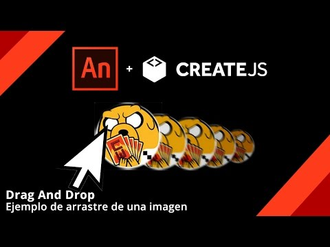 Drag And Drop (Adobe Animate HTML5)