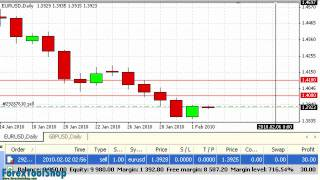 How to read basic Forex charts
