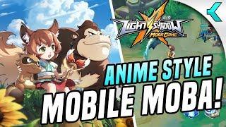 LIGHT X SHADOW | Gorgeous Anime Style Mobile MOBA!