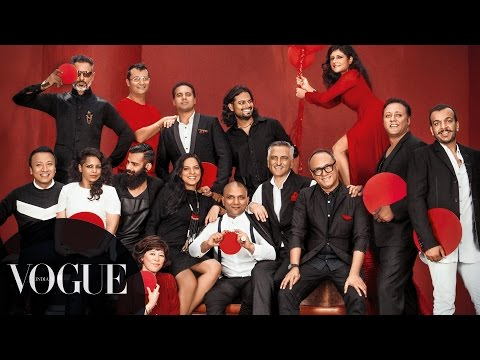 The Delhi Fashion Crew India S Top 50 Fashion Designers Shoot Vogueempower Vogue India Youtube