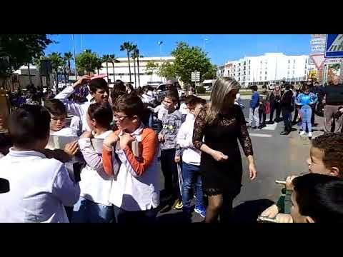 Semana Santa en Colegio S. Urbano de Isla Cristina.