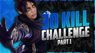 5K DAMAGE in ONE GAME!? | 30 Kill Challenge Pt. 1 | sYnceDez