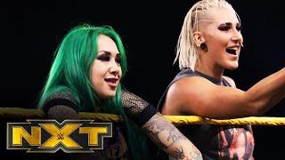 Rhea Ripley & Shotzi Blackheart take up arms against The Robert Stone Brand: WWE NXT, Aug. 12, 2020
